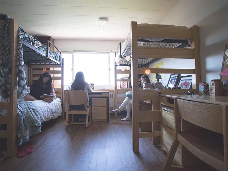 Looking for a space in dorm room